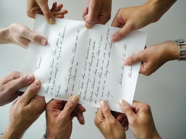наследство на бумаге