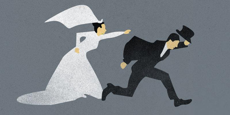 Развод после свадьбы