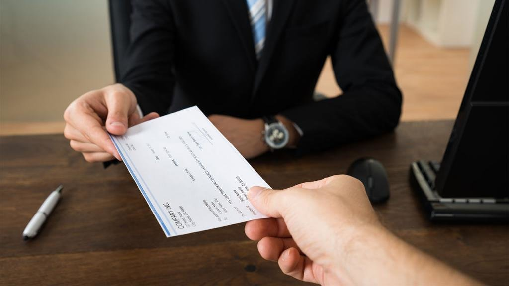Выдача бланка квитанции