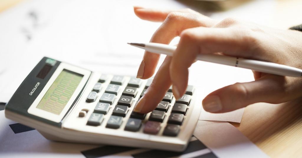 Расчет отпускных на калькуляторе