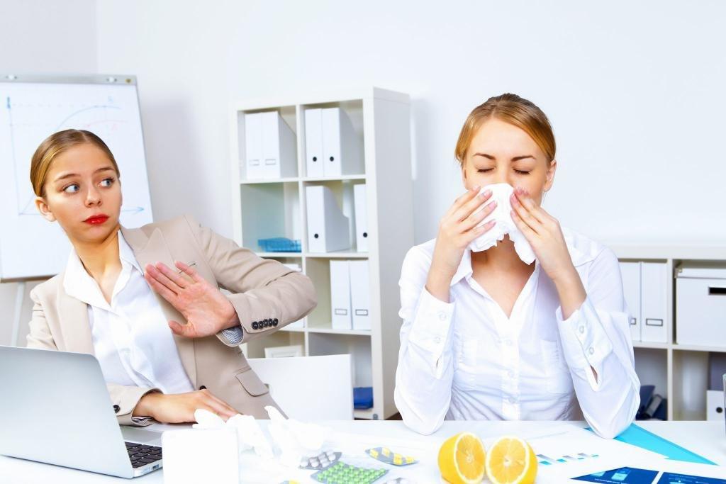 Ухудшение здоровья сотрудника