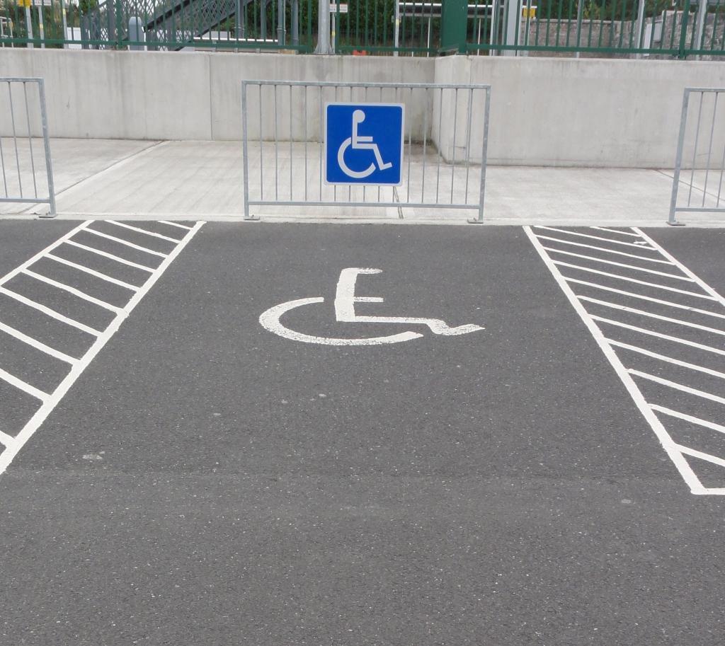 остановка на месте для инвалидов штраф