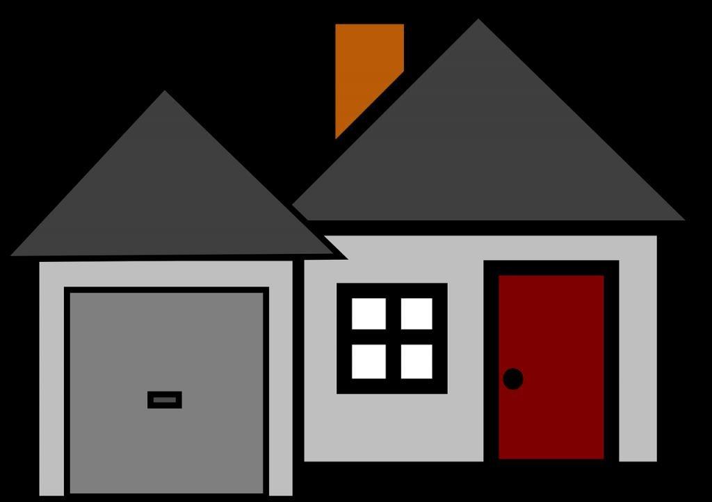 Нарисованный дом