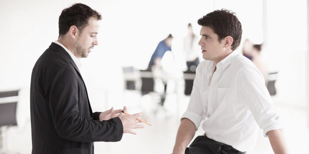 Диалог мужчин