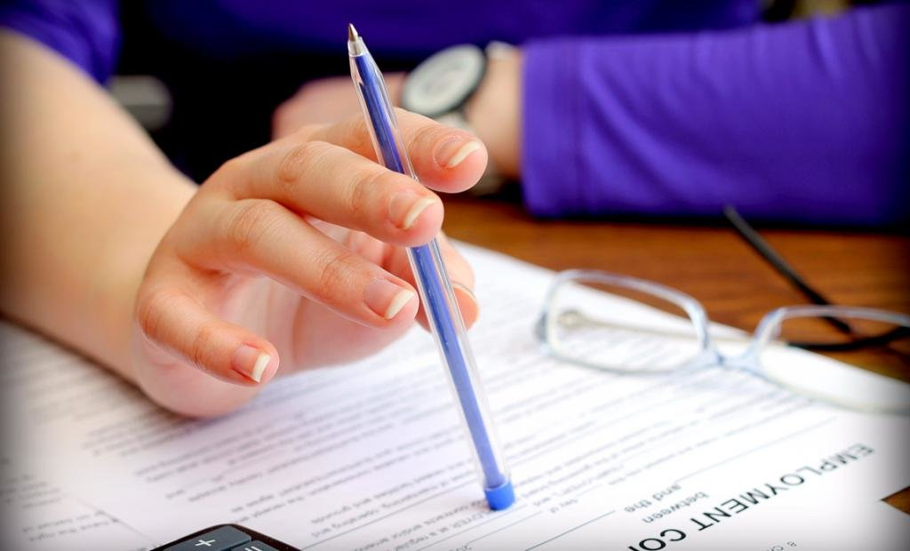 ручка рука