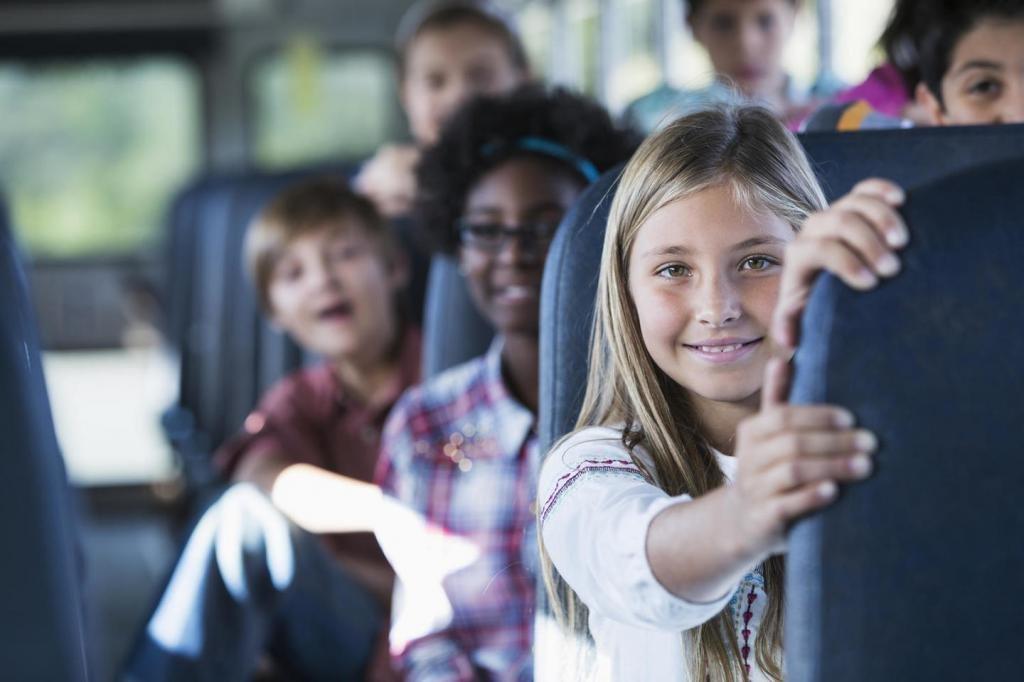 Перевозка детей групповые перевозки