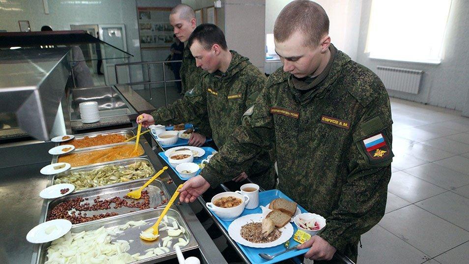 Льготное питание солдат