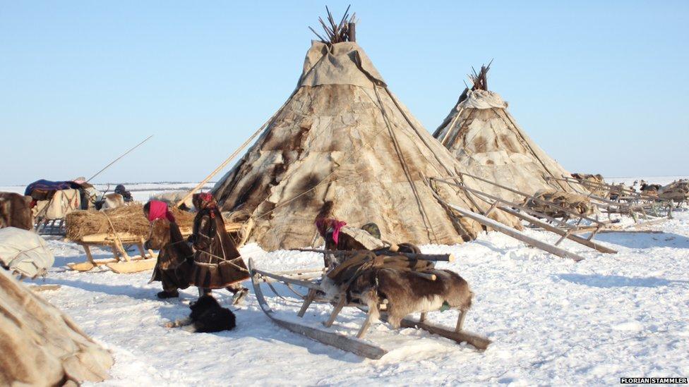 Место жительства кочевников