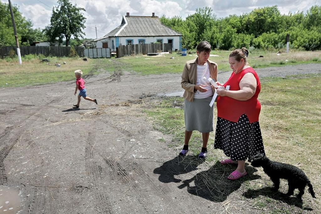 Работа в деревне
