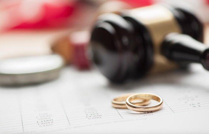 Вынесение решения по делу о разводе