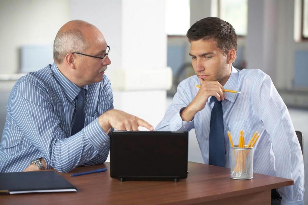 Разговор сотрудников