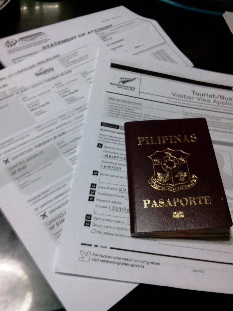 Обязательные процедуры при въезде