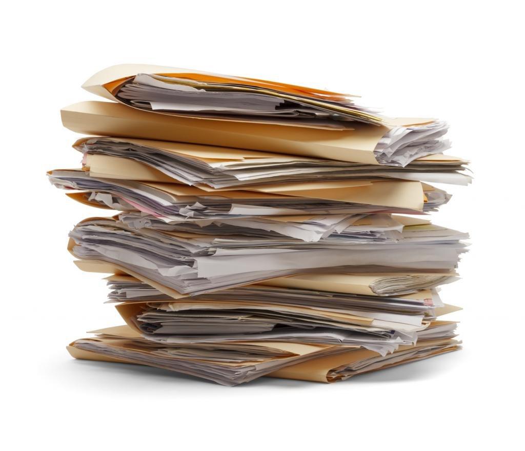 Много документов