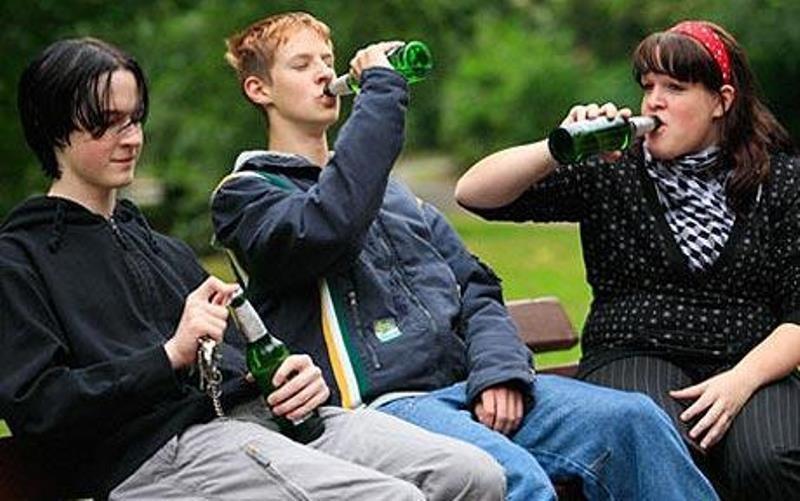 пьянство на улице