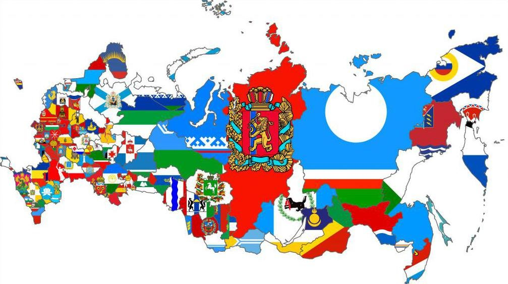 площади субъектов российской федерации