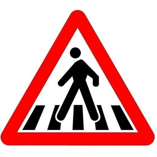 Пешеход на знаке