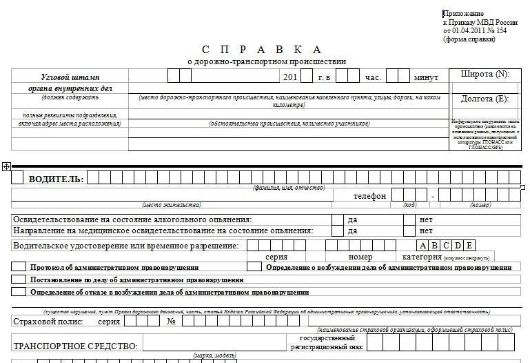 какие документы в страховую после дтп
