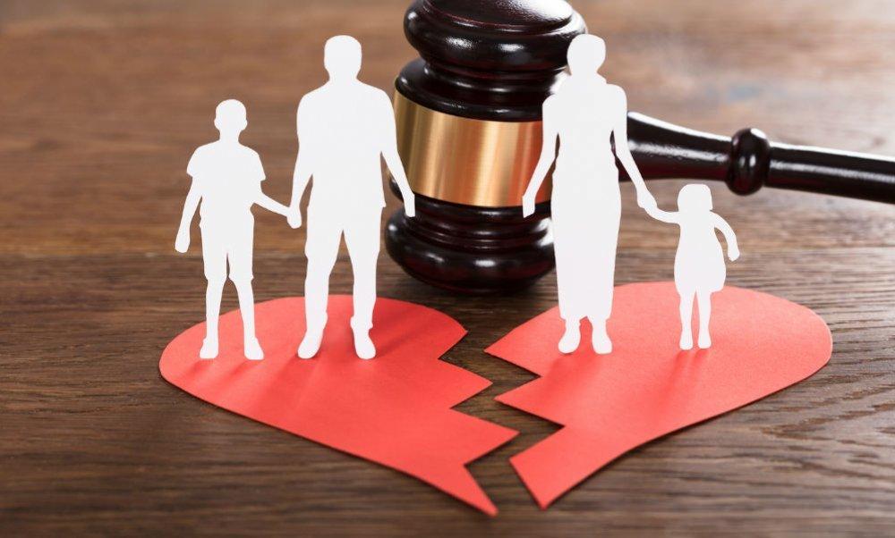 Порядок развода при наличии детей в суде