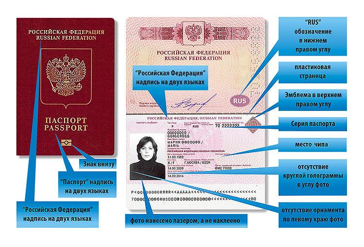 Заграничный паспорт нового образца
