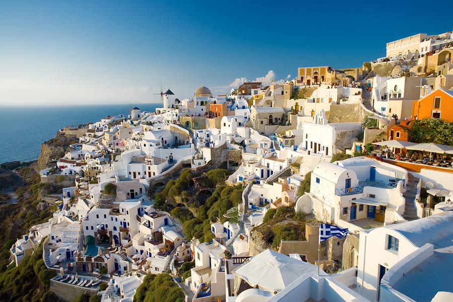 В Греции