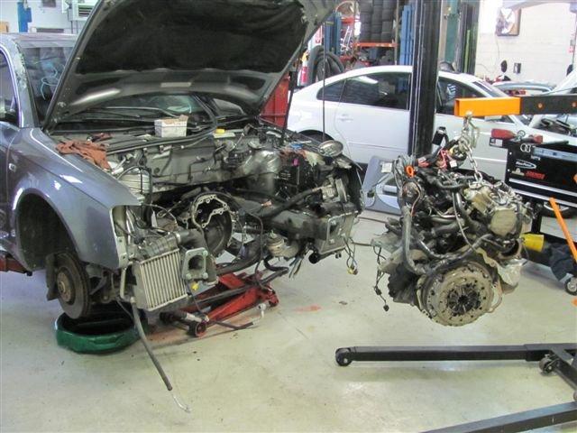 как оформить замену двигателя