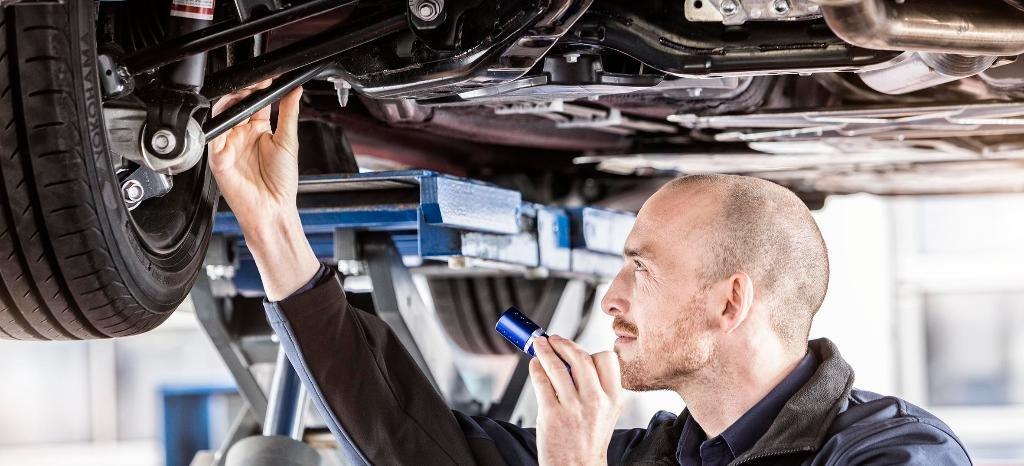 технический осмотр машины