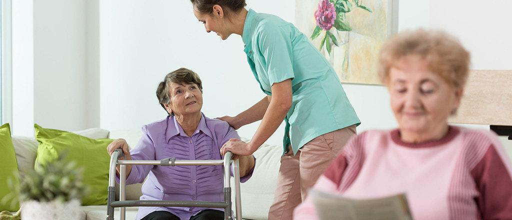 Уход за пенсионерами