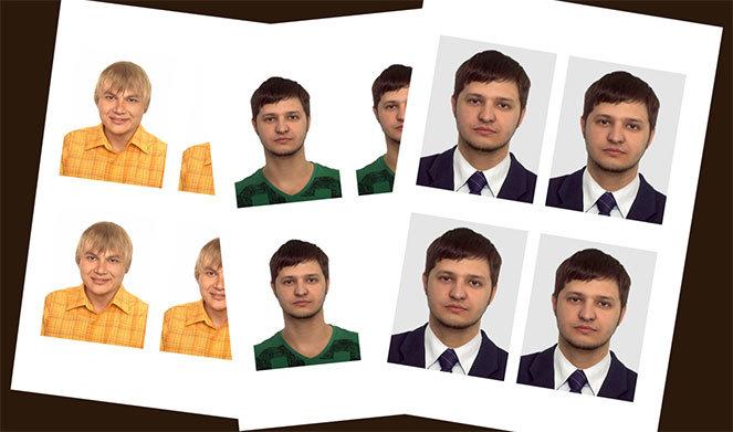 Как должна выглядеть фотография на паспорт