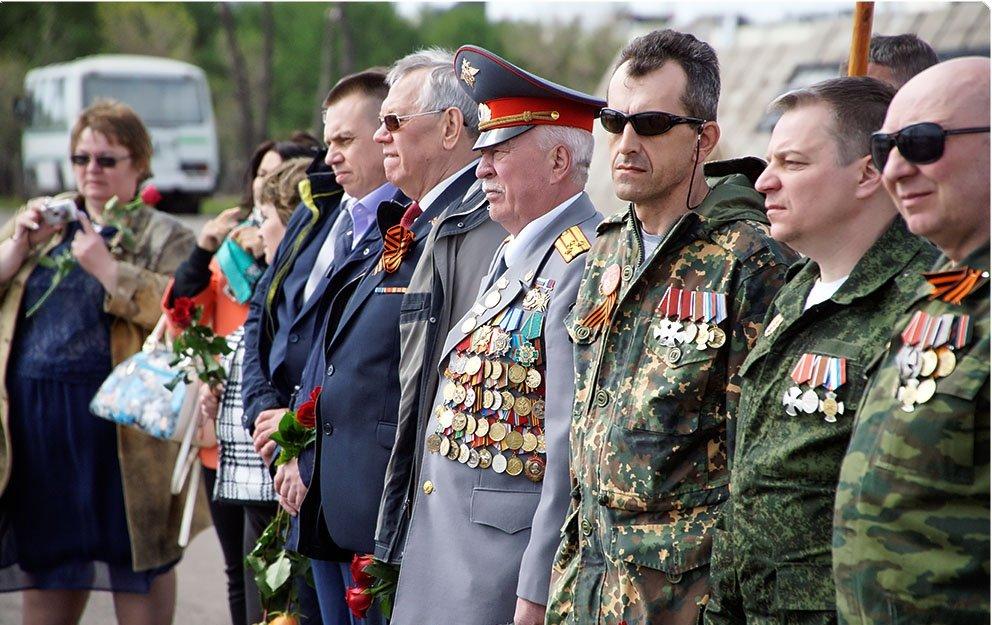 Много ветеранов