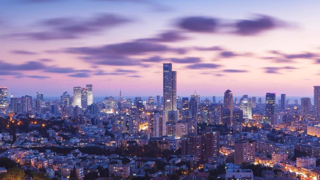 ночной израиль