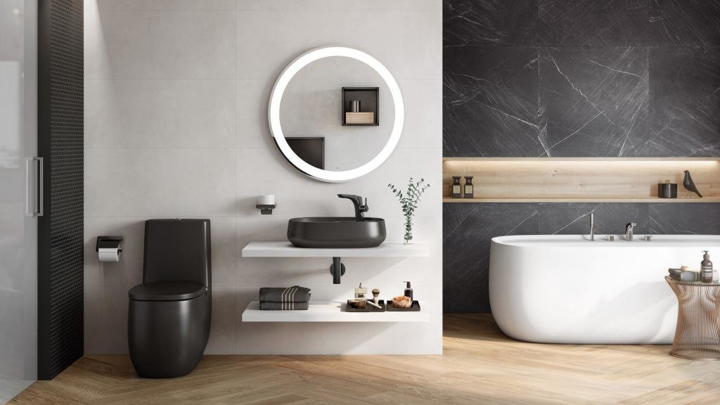Фото в ванной комнате