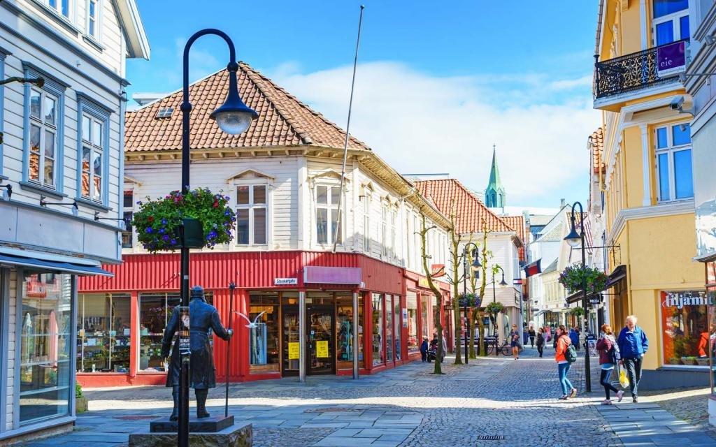 Норвежская улочка