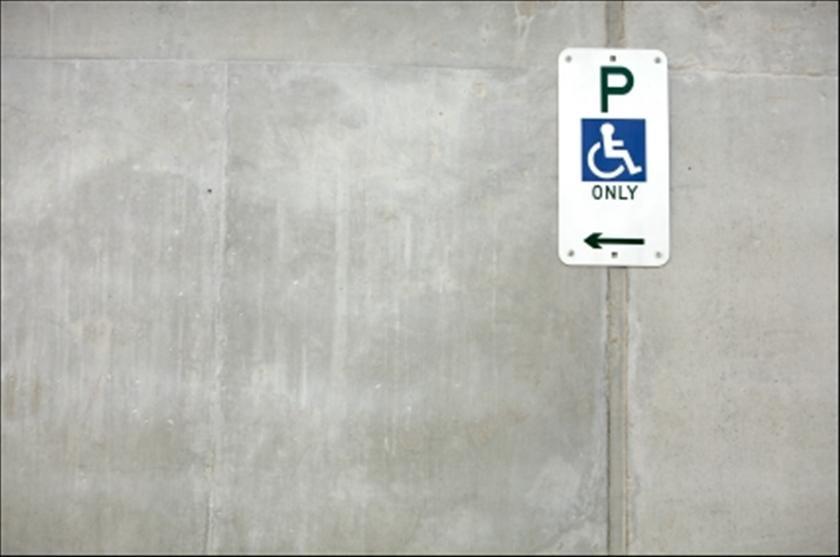 действие знака стоянка для инвалидов