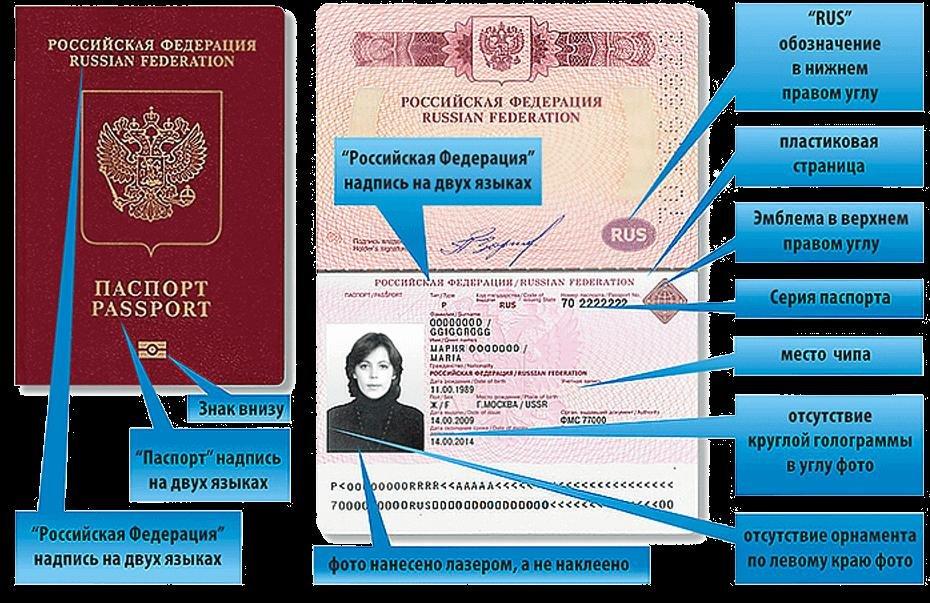 Как выглядит биометрический паспорт