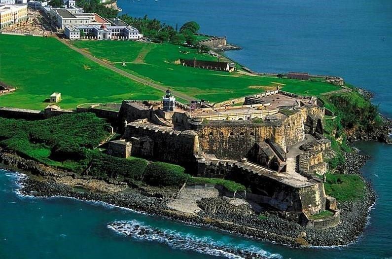 пейзаж в доминикане