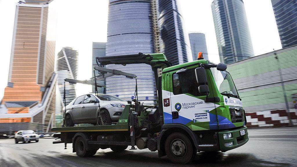 Эвакуация транспортного средства