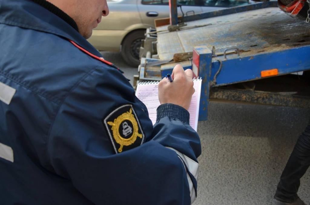 Технический осмотр авто при регистрации