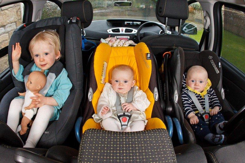 правила перевозки детей в автокресле