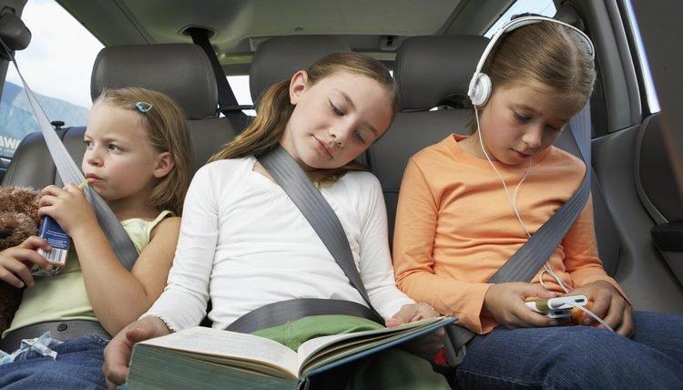 нарушение правил перевозки детей в автомобиле