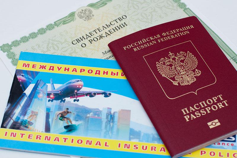 Заграничный паспорт ребенку