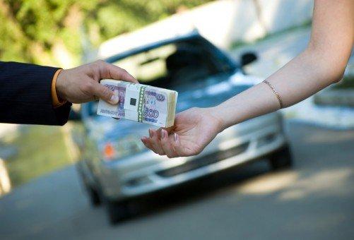 продать машину по рукописному договору купли продажи