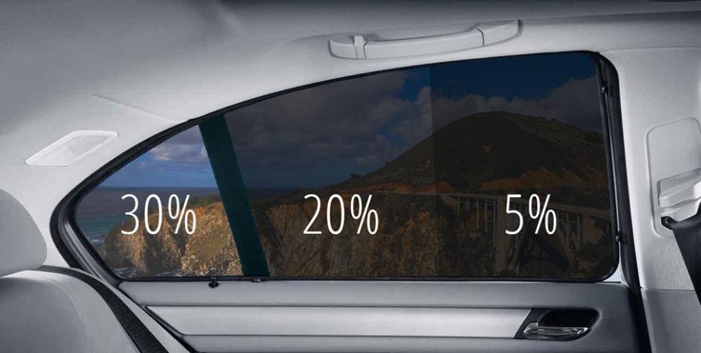 допустимая тонировка стекол автомобиля в россии