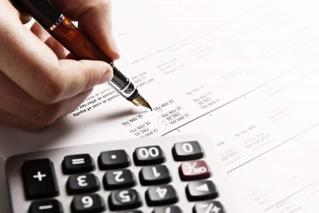 Расчет бухгалтерской прибыли по формуле