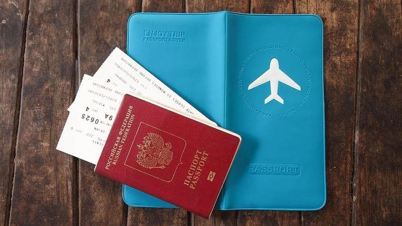 Заграничный паспорт и билеты