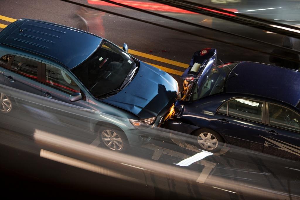 Автомобильная авария, полис ОСАГО