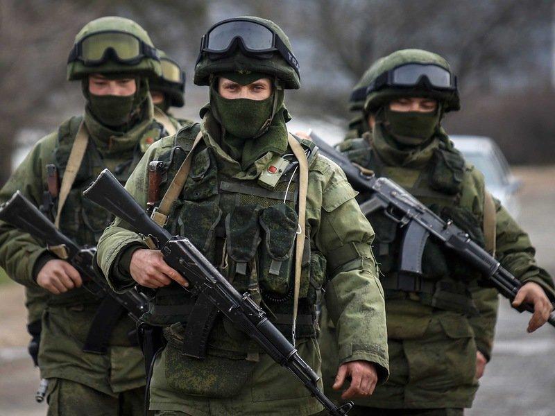 Бойцы российской армии